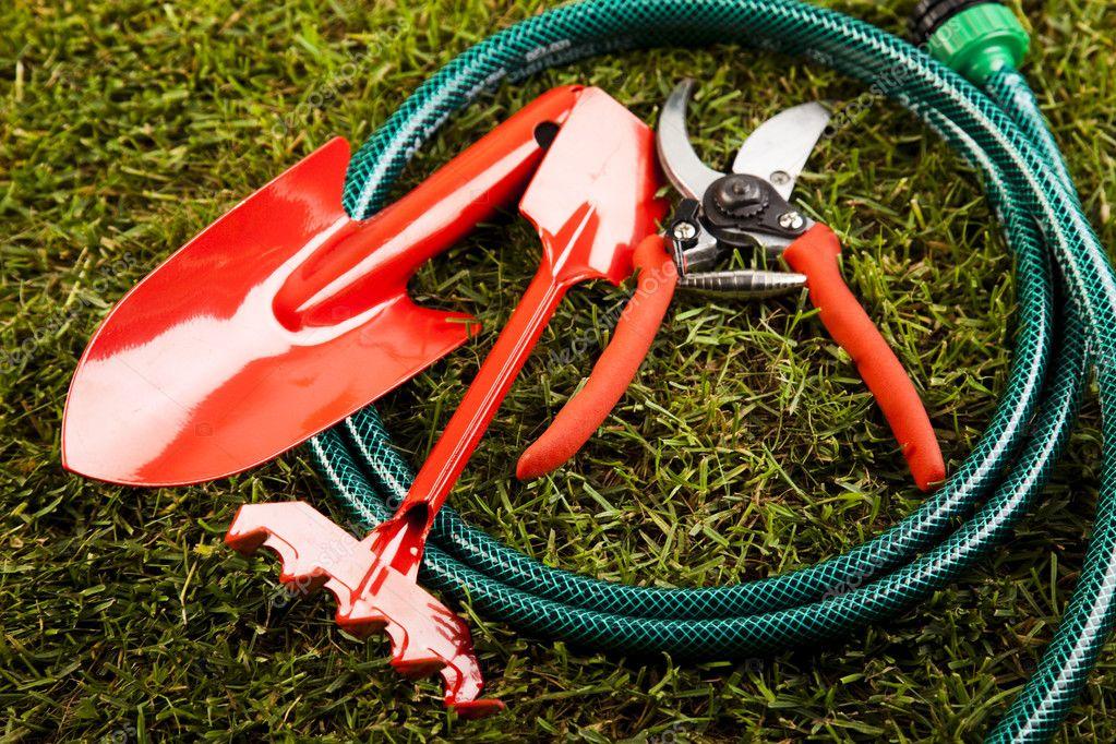 Garden tools concept