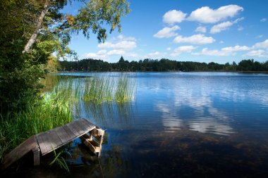 Countryside lake