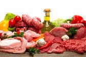 Fotografie frisches rohes Fleisch