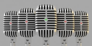 Group of microphones