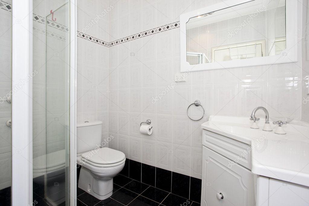 Moderne toilet inrichting