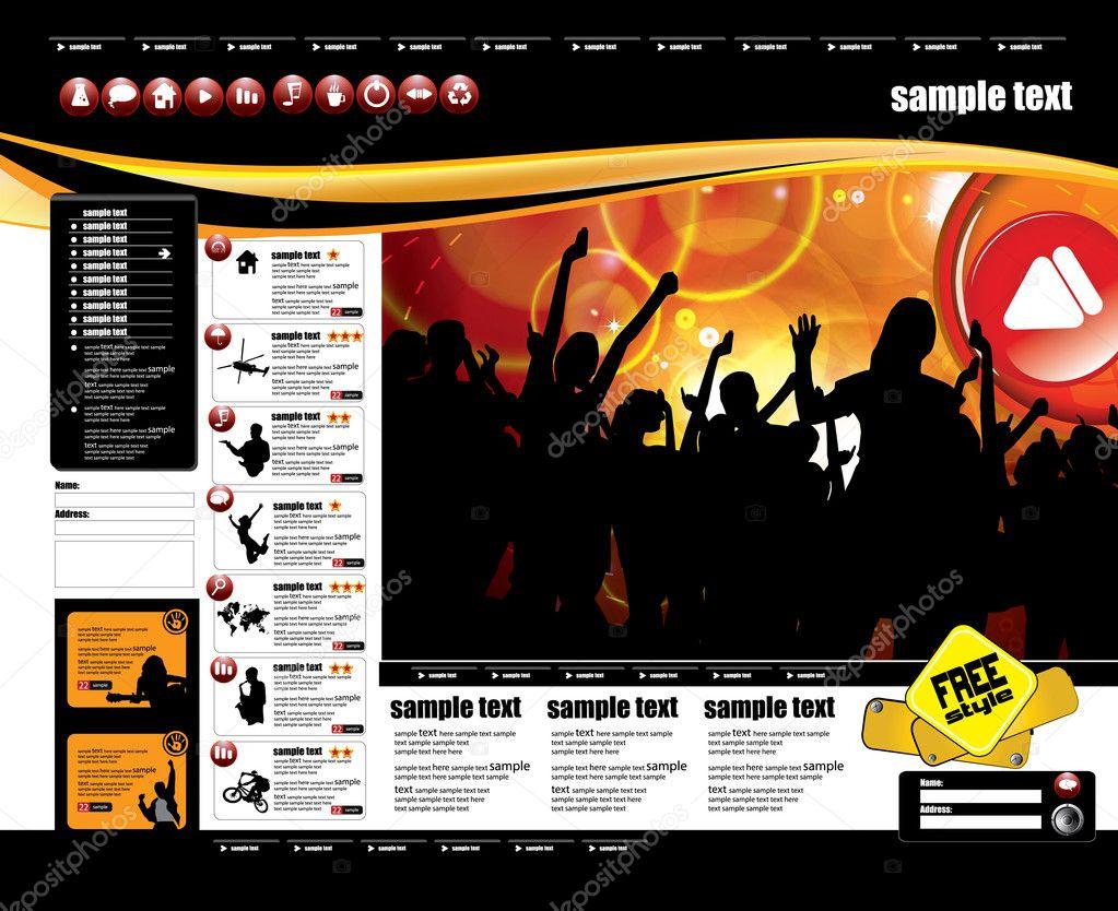 Gemütlich Website Seitenvorlage Bilder - Beispielzusammenfassung ...