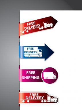 Free shipping label/stickers