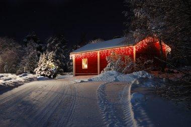 Beautiful Christmas house