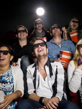 Happy at the cinema