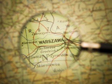 Map of Warzawa