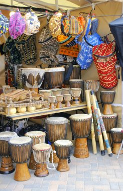 Djembe and african craft