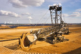 Photo Giant bucket wheel excavator