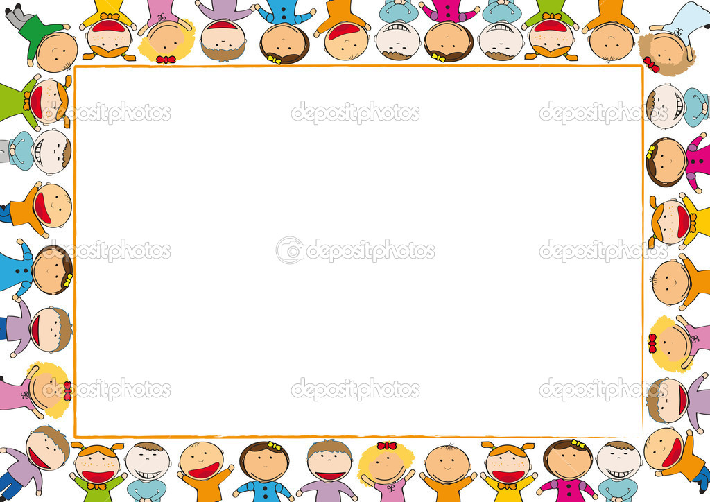 Kids frame — Stock Vector © justaa #7328907