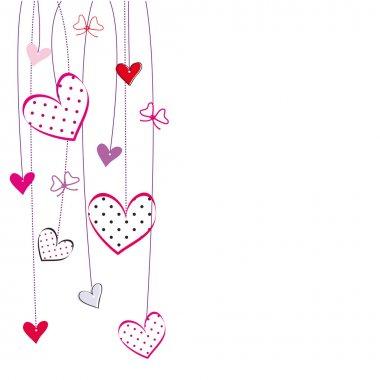 Valentines or wedding card