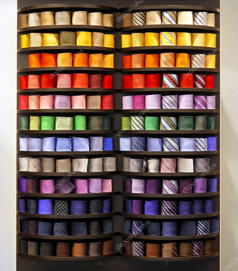Tie rack — Stock Photo © Baloncici #7096274