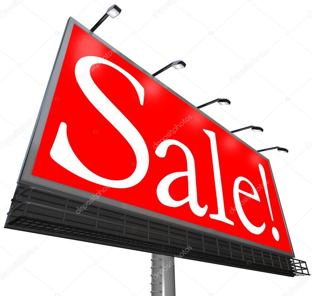 46bc63c9b Prodej slovo venkovní reklamní billboard odbavení speciální cena– stock  obrázky