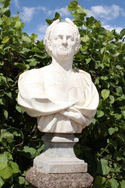 Sculpture portrait of a man
