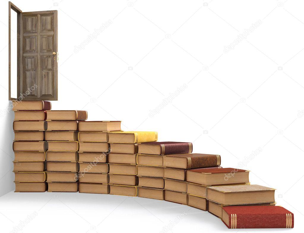 картинка лестница из книг говорить, что осетины