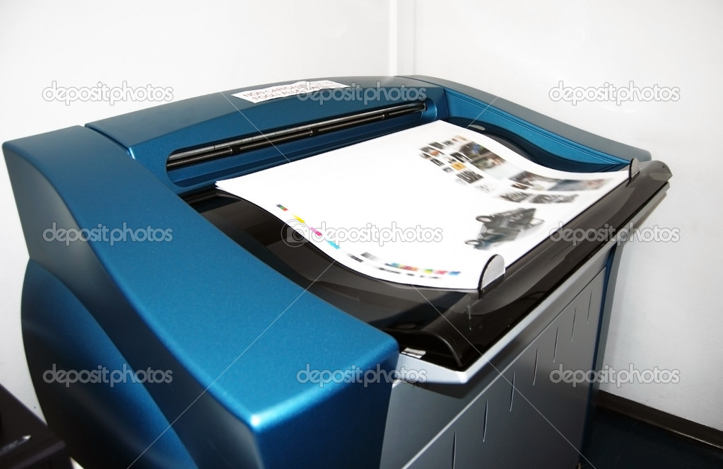 Digital press printing - proofs — Stock Photo © moreno soppelsa #7066501