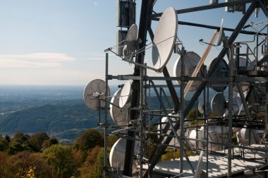 Radio television tower