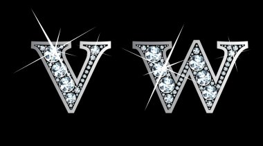 Diamond v and w