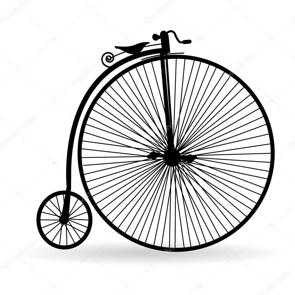 Bicicletta Antica Vettoriali Stock Petrkurgan 7021174