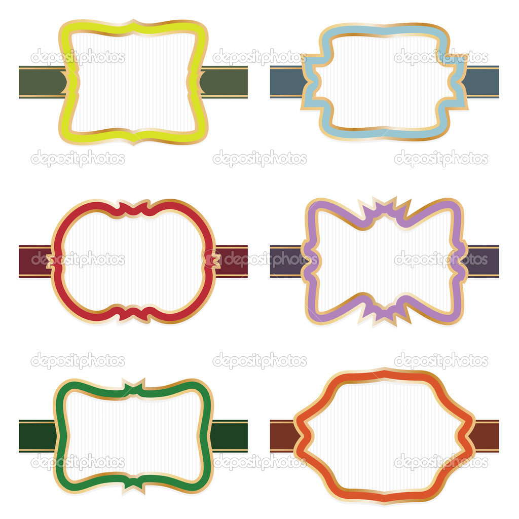 It is a picture of Accomplished Decorative Printable Labels