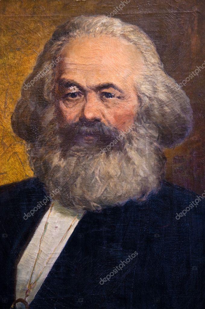 カール ・ マルクスの肖像画 — ...