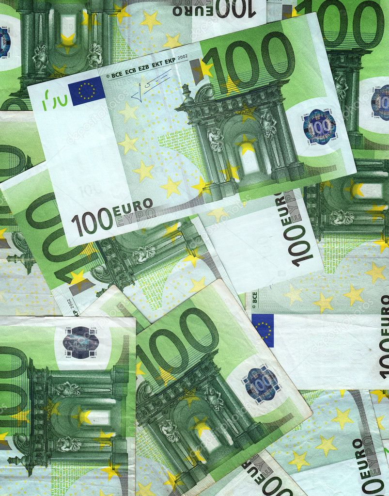tas de billets de 100 euros photographie stevanovicigor 7950552. Black Bedroom Furniture Sets. Home Design Ideas