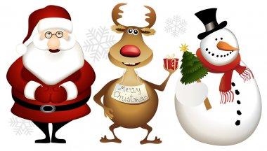 Christmas cartoon heros
