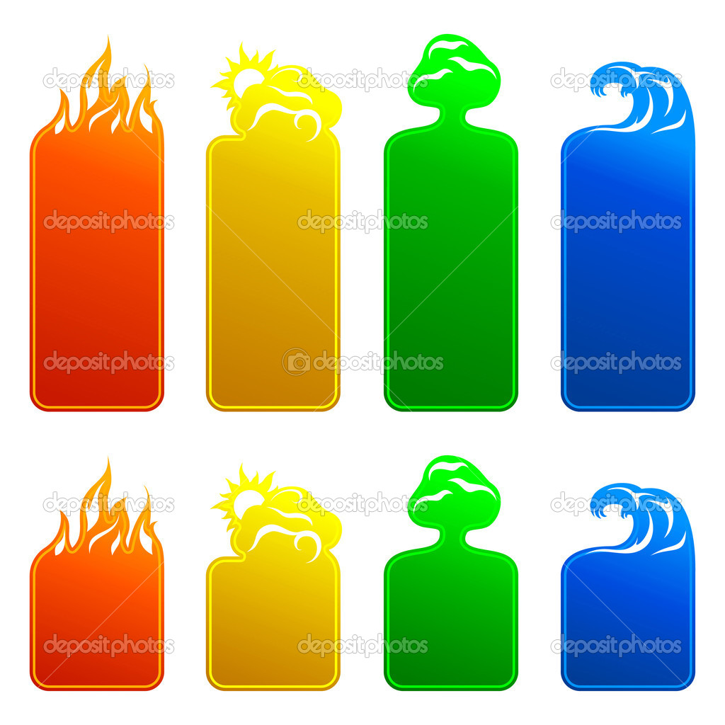 Banners 4 elements