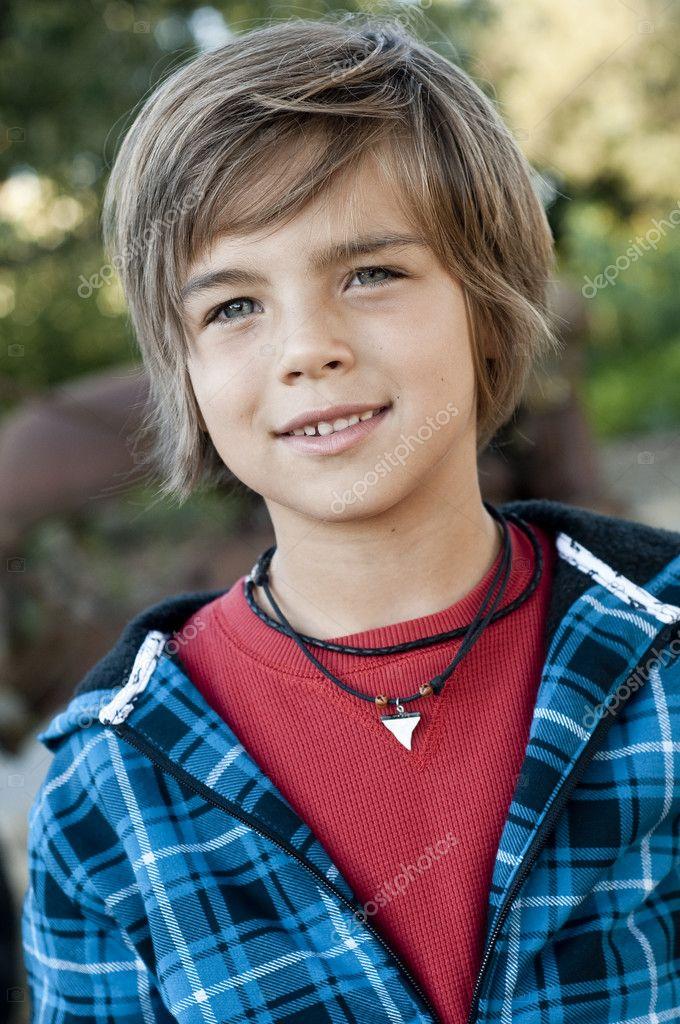 Cute young boy — Stock Photo © shippee #6778030