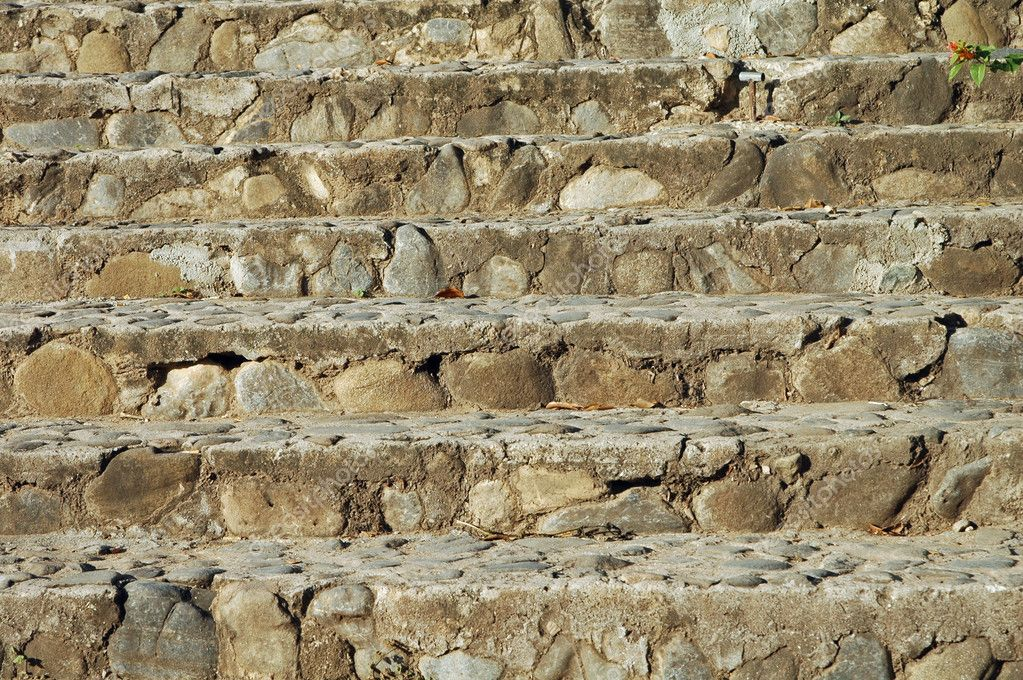 escalones de una escalera piedra natural u foto de estike