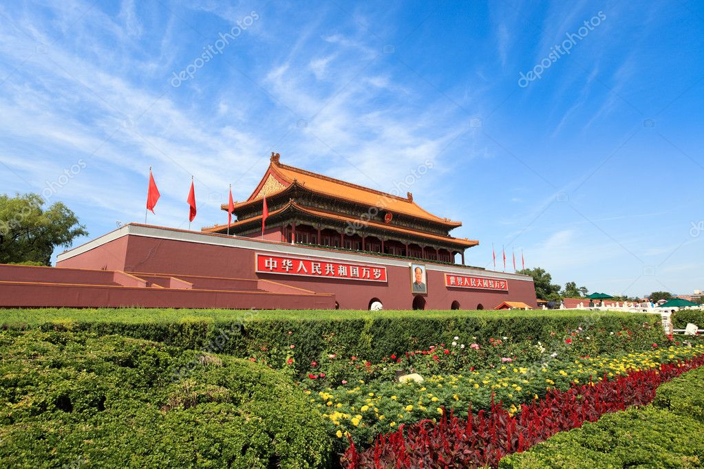 Tian'anmen tower