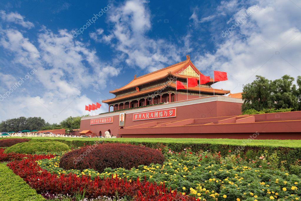 Tiananmen gate tower