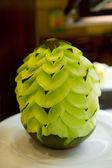 Photo Artful carved melon
