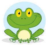úsměv žába kreslená postavička