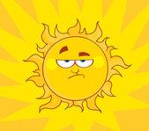 rozzlobený slunce