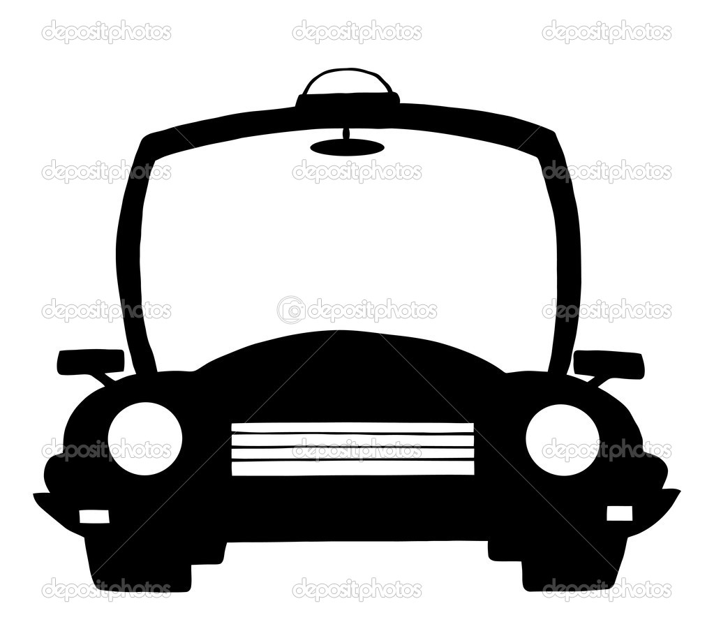 police cartoon silhouette car u2014 stock photo hittoon 7277206