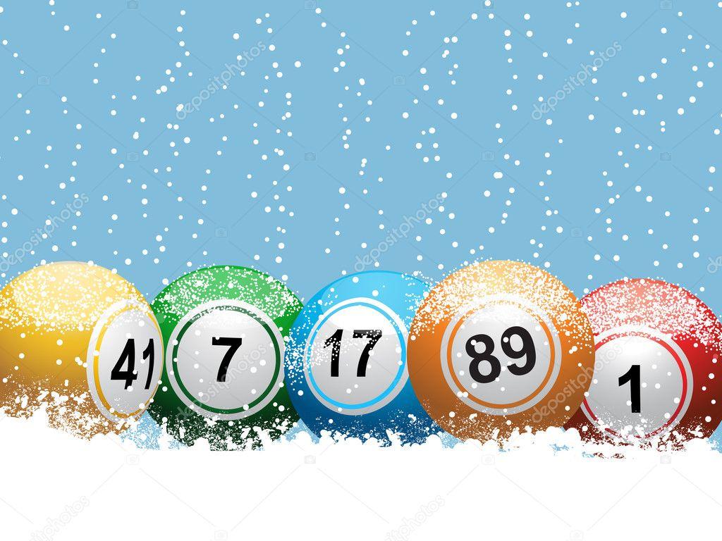 Dibujos De Loteria De Navidad.Fondo De Navidad Loteria Bingo Archivo Imagenes