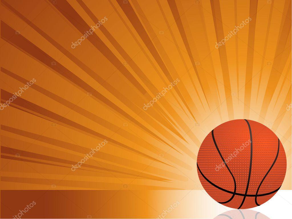 Basketball background Stock Vector elaineitalia 7921808
