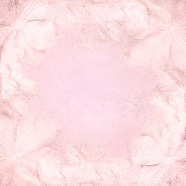 Grunge pink wedding background