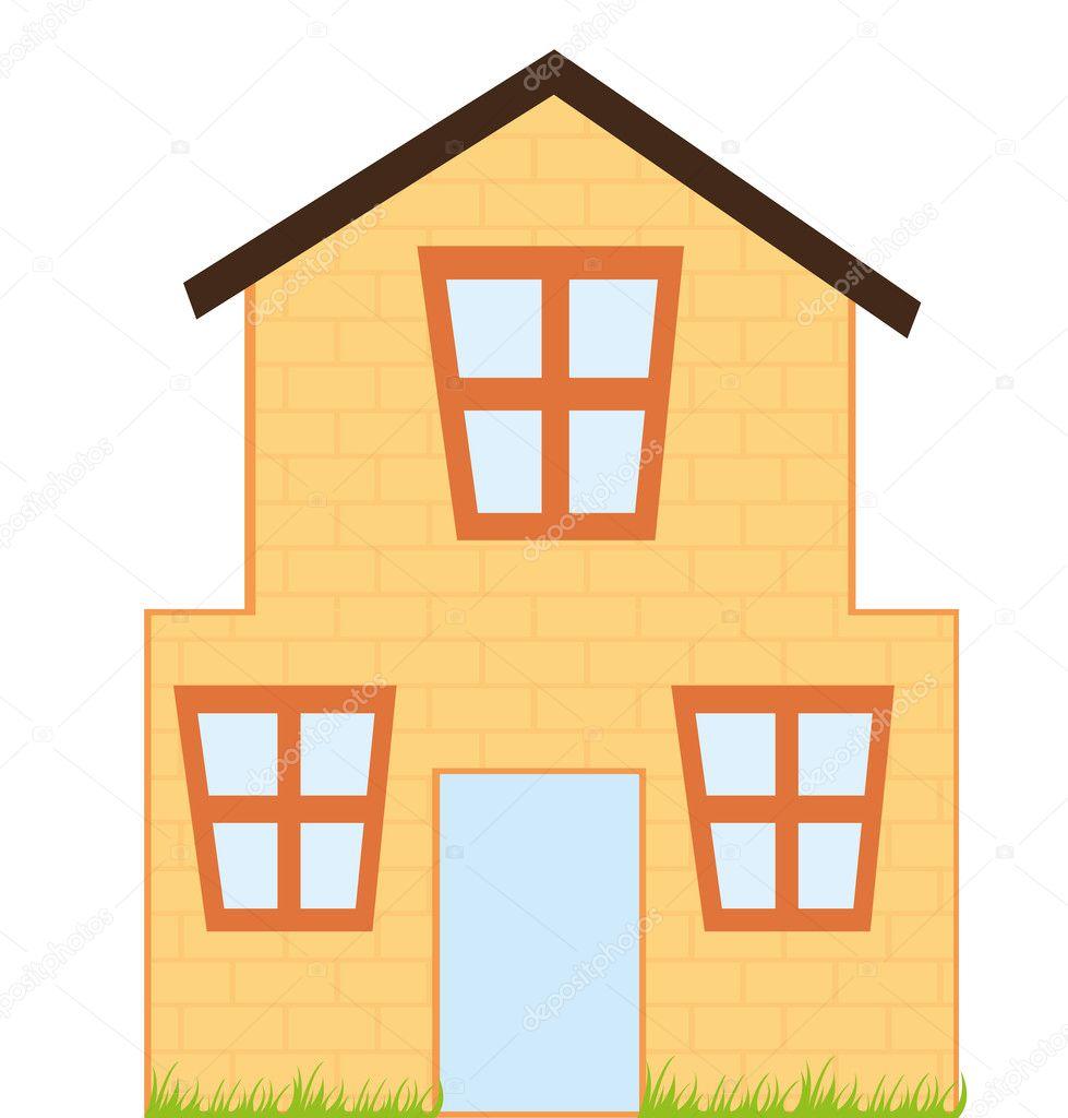 House Cartoon Stock Vector 169 Yupiramos 7095254