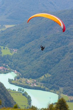 Paragliding in Julian Alps