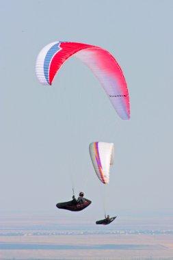 Hang gliding in Crimea