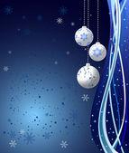 Vánoční pozadí vektor