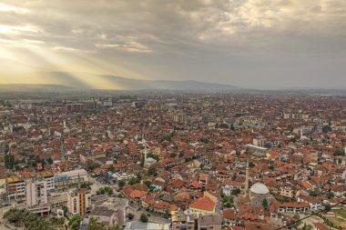 Prisren in Kosovo at sunset