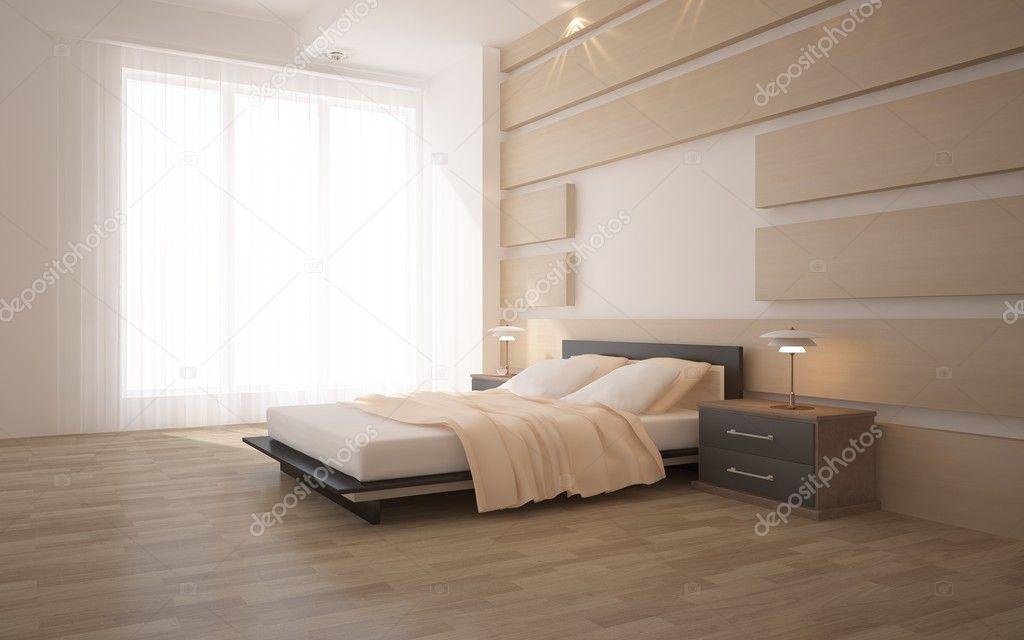 moderne Schlafzimmer-Interieur — Stockfoto © antoha713 #7823396