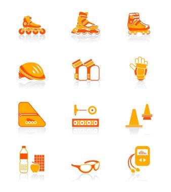 Inline skating icons | JUICY series