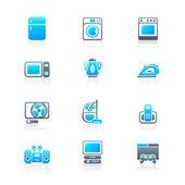Domácí elektronika ikony | Marine série