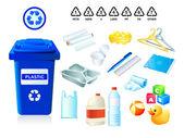 Fényképek Műanyag hulladék és szemét