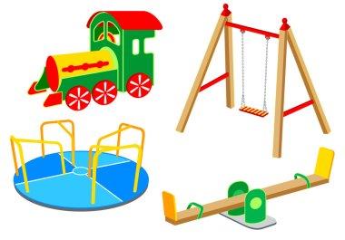 Playground equipment   Set 1