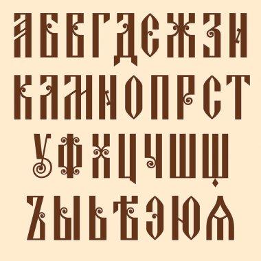 Slavjanic alphabet