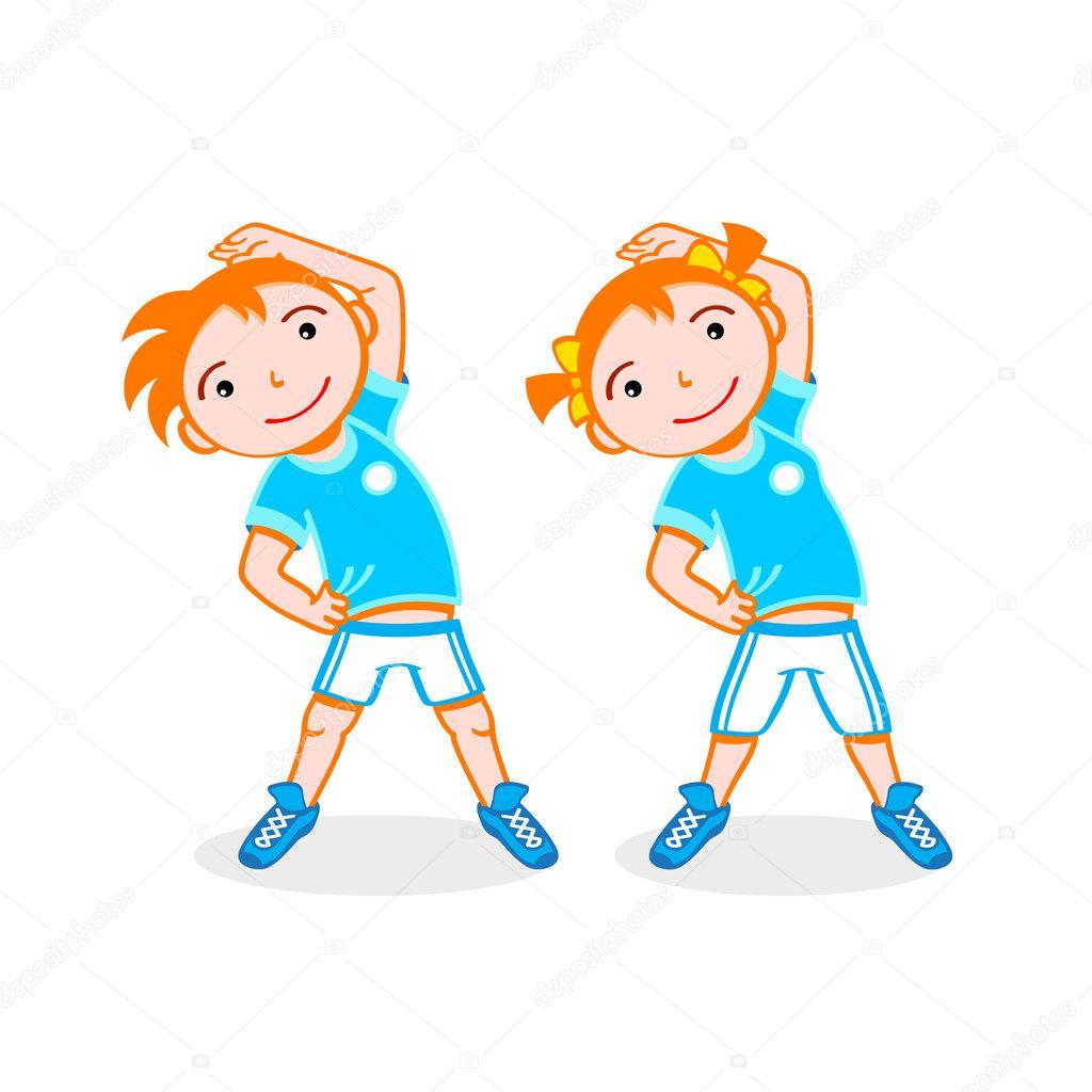 Картинки по запросу дети спорт вектор спортивная площадка